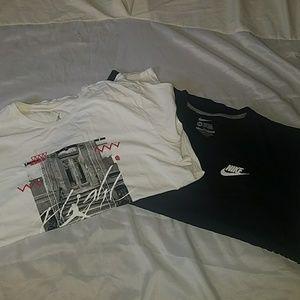 2 Nike XXL Tee Shirt Bundle